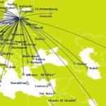 Старые и новые направления авиакомпании Победа
