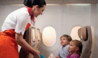 Перевозка детей самолетами Уральских авиалиний
