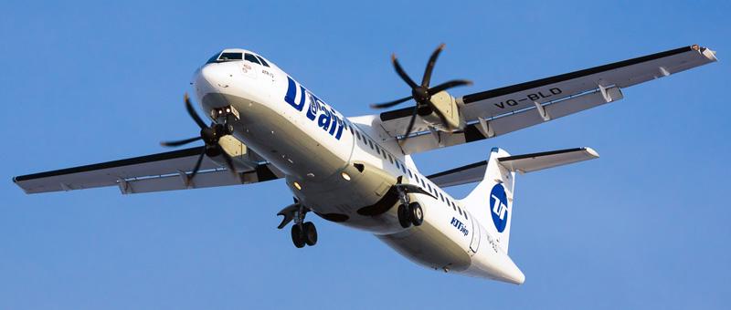 фото самолета ATR 72 ЮТэйр