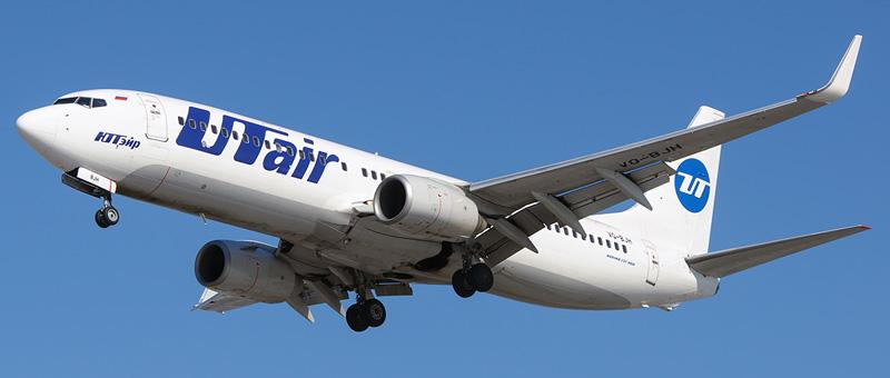 фото самолета Боинг 737-800 ЮТэйр