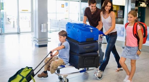 перелет с детьми багаж