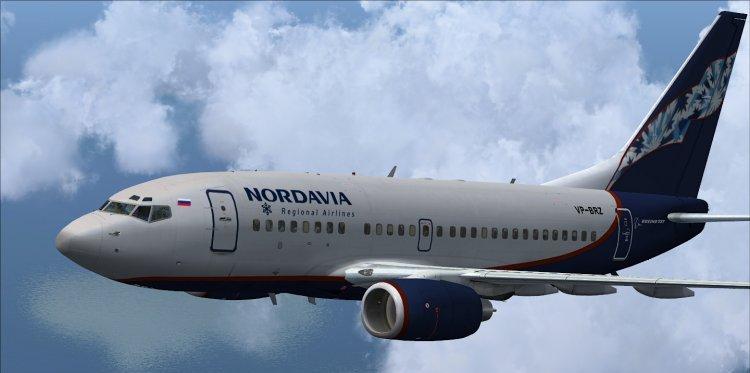 Боинг 737-500 Нордавиа