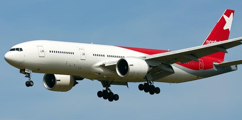Фото Боинга 777-200 северный ветер