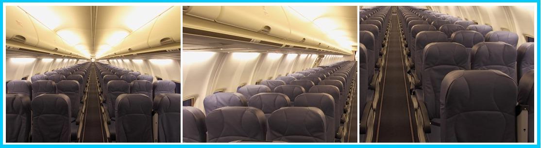 Места в Боинг 737