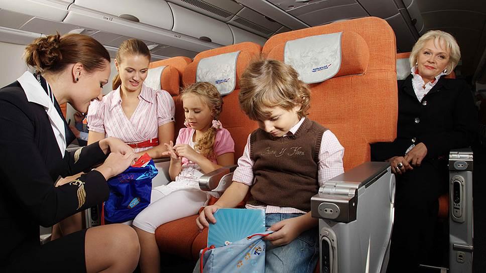 Сопровождение ребенка в самолетах Победы