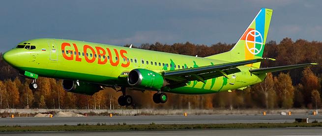 Самолеты авиакомпании Глобус