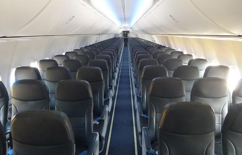Салон самолетов авиакомпании Победа фото