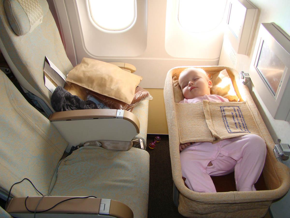 люлька в самолете