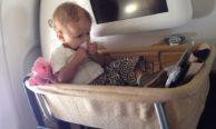 Пассажирам Аэрофлота о перевозке ребенка в люльке — как заказать, особенности