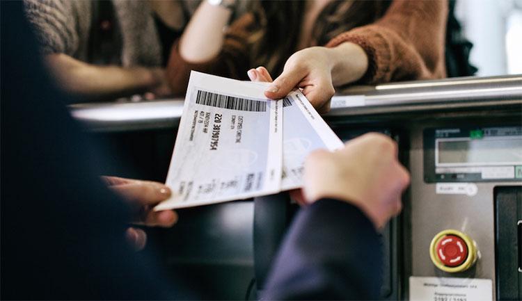 сдача билета на самолет
