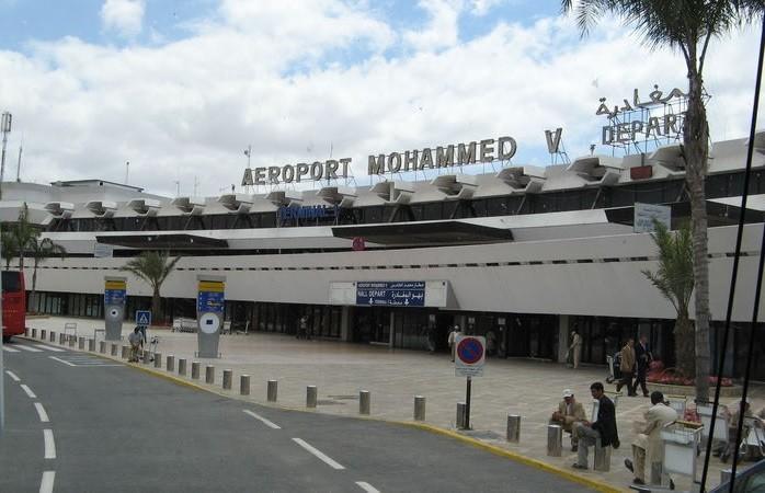 Аэропорт в Касабланке