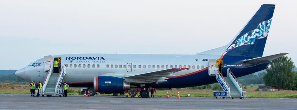 Фото самолета Боинг 737-500 Нордавиа
