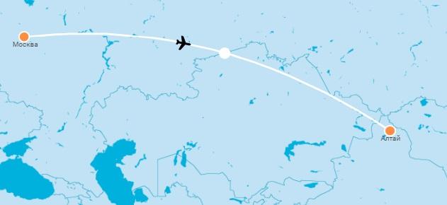 авиабилеты Москва — Алтай