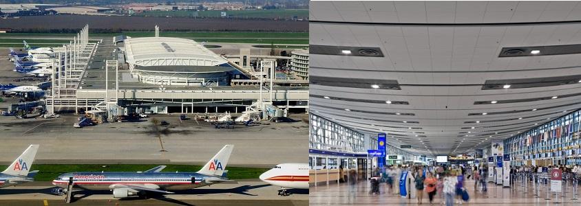 аэропорт Santiago Arturo Merino Benitez