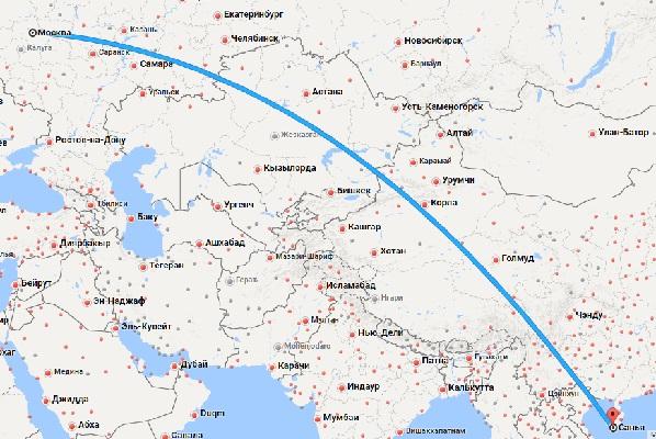 Авиабилеты Москва — Хайнань
