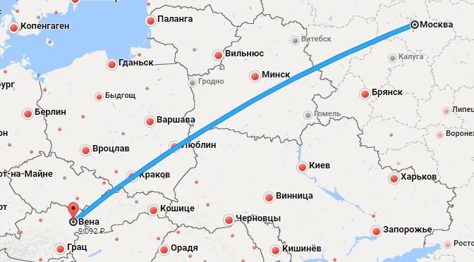 Авиабилеты Москва — Вена