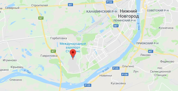 Аэропорты Нижнего Новгорода